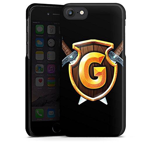 Apple iPhone X Silikon Hülle Case Schutzhülle GommeHD Fanartikel Merchandise Youtube Hard Case schwarz
