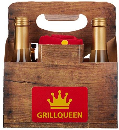DKDS Collection Grill Geschenkset Sixpack für Grill-Queen & Grill-König, ohne Rezeptbuch