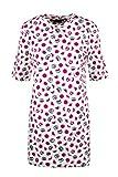 Love Moschino Kurzes Kleid Damen 36 Weiß