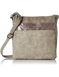 Tamaris Damen Khema Crossbody Bag Umhängetasche, 2 x 24 x 25 cm