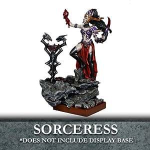 Kings Of War - Twilight Kin - Abyssal Elf Sorceress - Unpainted - Mantic Games