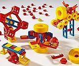 Plasticant Mobilo 302 - insieme standard incluso 4 ruote di grandi dimensioni, 120 pezzi