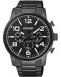 Citizen Herren-Armbanduhr Chronograph Quarz Edelstahl beschichtet AN8056-54E