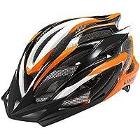 Lixada Casco Ciclismo Ajustable Ultraligero Diseño Moldeado Integral con 25 Ventilaciones para MTB Carretera Bicicleta