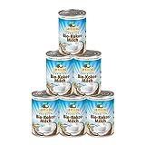 Dr. Goerg Premium Bio-Kokosmilch - 6 Dosen - 400 ml