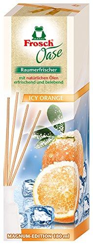 Frosch Oase Raumerfrischer Icy orange, 1er Pack (1 x 180 ml)