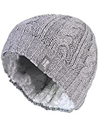 96962a07b58 1 Ladies GENUINE Heat Holders Heatweaver Thermal Winter Warm HAT TOG 3.4  Light Grey Twist