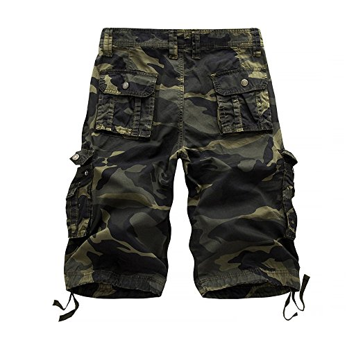 Jeans Shorts Herren Bermuda Shorts Linen Trousers Men Caprihosen Sommer Stretch Kurze Hose Jeans Hosen Kurze Hose Sweatpants Kurz (Biker-klammern)
