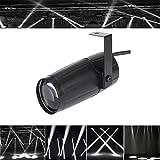 Top-Uking 3W LED Pinspot Bühnenlicht Mini Lichteffekt mit Einzelständer für Show Disco Ballsaal Club Party( Weiße Farbe)