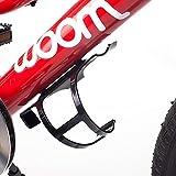 WOOM Bikes USA Seite Laden Fahrrad Flasche Halterung, Schwarz