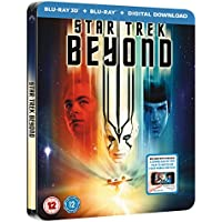 Star Trek Beyond 3D Steelbook / Includes 2D Version / Lenticular Cover / Region Free Blu Ray
