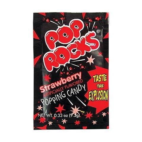 Pop Rocks Strawberry 0.33 OZ (9.5g)