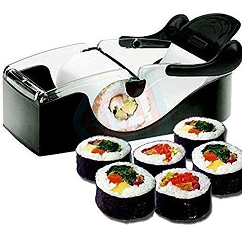 Características: Hace que sushi sea más fácil. Crea rollos sushi elegantes en casa. Fácilmente utilizado por profesionales y principiantes. Uso para cualquier comida enrollada, no solo sushi. Si tienes alguna pregunta sobre esta sushi rollo de máquin...