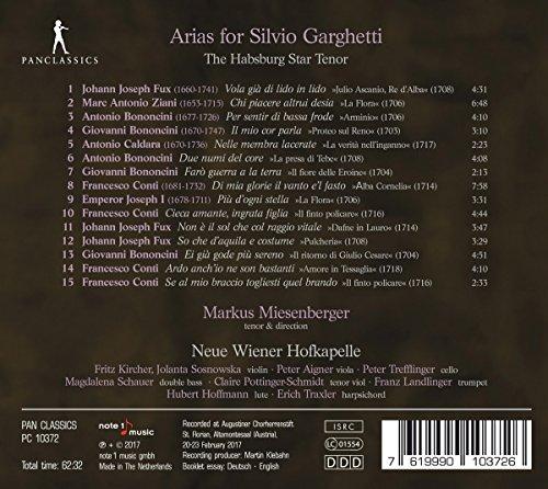 Arias pour Silvio Garghetti