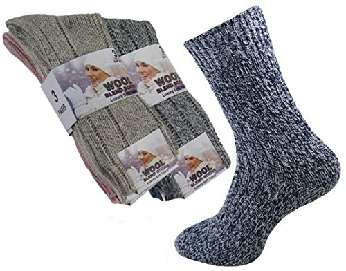 Wool / 1107 Products Damen Socken Mehrfarbig mehrfarbig, Mehrfarbig (Crew Liner Lightweight-hiking)