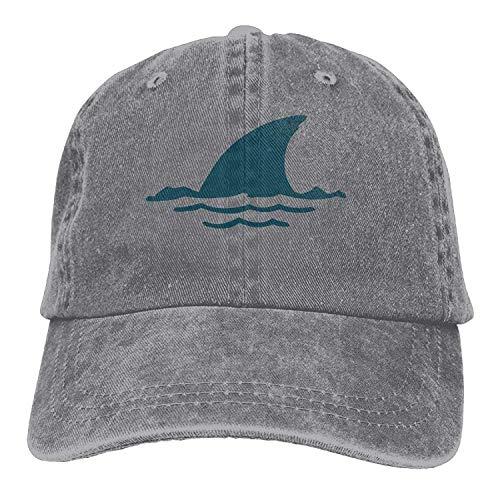 k Fin Adult Sport Adjustable Structured Baseball Cowboy Hat ()