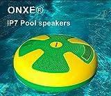 IPX7Wasserdichte Bluetooth-Lautsprecher mit stoßfest dust-proof Kabellose Lautsprecher für Pool, Strand, Outdoor, Badezimmer, Dusche, mit mit 5-W-Motor mit Sound Qualität mit 32-YD Bluetooth Reichweite., grün, Big