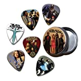 Black Eyed Peas Set of 6 Loose Guitar Médiators in Tin ( Collection B )
