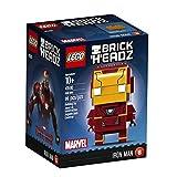#7: LEGO Brickheadz Iron Man, Multi Color
