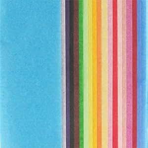 Assortiment papier de soie 50x66 cm Multicolore x20