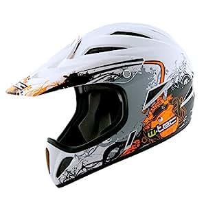 Worker downhill 3ride casque de vélo pour bMX, downhill et freeride 53–54 taille xS