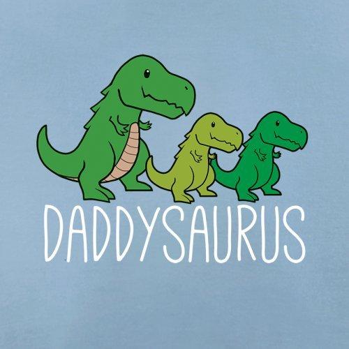 Daddy Saurus - Herren T-Shirt - 13 Farben Himmelblau