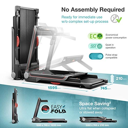Sportstech FX300 Ultra Slim Folding Treadmill