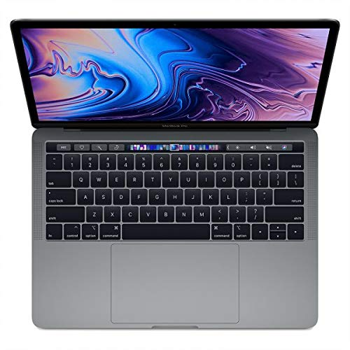 Apple MR9Q2 Gen Intel 13 3 Inch Keyboard - Apple MacBook Pro MR9Q2 with Touch Bar and Touch ID Laptop -8th Gen-Intel Core i5,2.3Ghz, 13.3-Inch, 256GB SSD,8GB, EN-AR Keyboard, macOS, Space Gray, Middle East Version