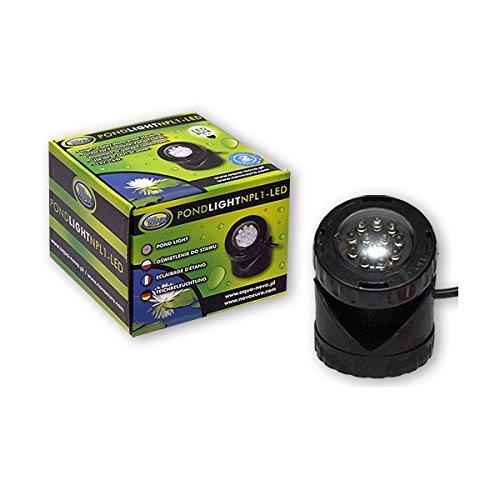 Teichleuchte LED; Unterwasserleuchte, Teichleuchte -