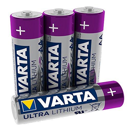 Varta 6106301404 - Pilas litio, Plateada