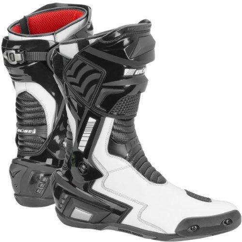Büse SBX Stiefel Wasserdicht, Farbe schwarz-weiss, Größe 47