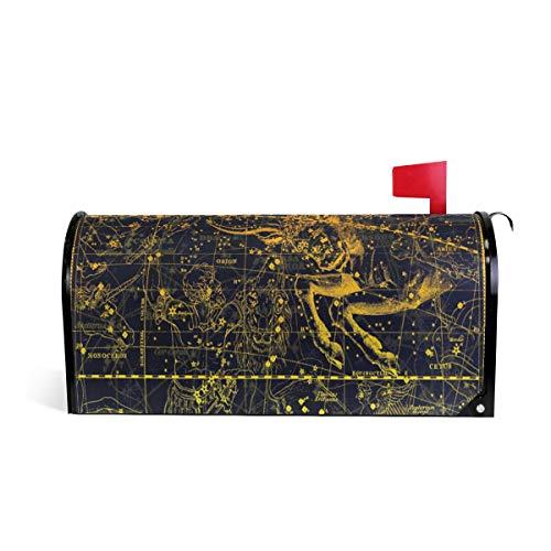 nstellation Orion Drache Kuh Magnet Briefkasten-Abdeckung Haus Garten Dekoration Übergröße 63,5 x 5,8 cm 52.6x45.8cm Mehrfarbig ()