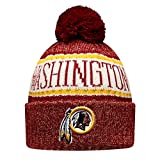 New Era NFL Sideline Bobble Knit 2018/2019 Season Beanie (Washington Redskins)