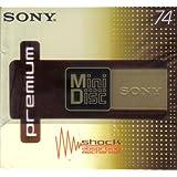 Sony Pemium Minidisc 74 min x 5