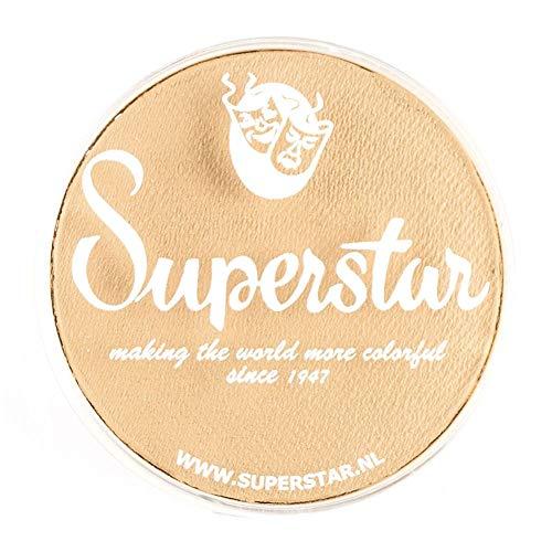 Unbekannt Superstar Gesicht Paint - Mandel 016, hypoallergen, Glutenfrei & Cruelty Free - Kinderfreundlich, ideal für Messen, Karneval, Party & Halloween-Malerei (45 g)