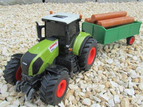 RC Traktor kaufen Traktor Bild 1: RC Traktor CLAAS Hänger & Zubehör 36cm 1:28 Bulldog