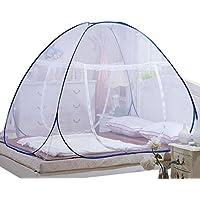 Haodasi Doppelt Durch Reißverschluss Pop Up Moskitonetz Falten Zelt Für Baby Erwachsene Anti-Moskito