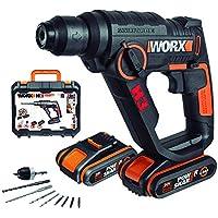 Worx Wx390.1 Martillo Atornillador, Negro