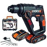 WX390.1 Worx - H3®Taladro/cacciavite/martello 2 batterie 20V - 2,0Ah Li-Ion.