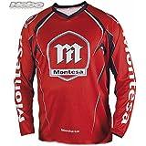 HEBO - HE2146XLR : Camiseta trial adulto MONTESA CLASSIC