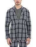 Zobello Men's Oxford Weave Summer Blazer...