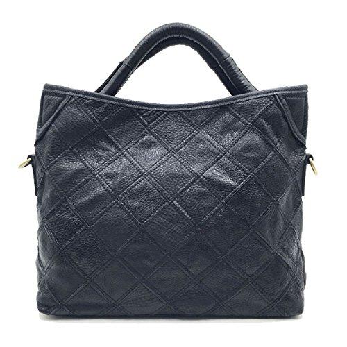 La Signora Spalla Mosaico Della Moda Messenger Bag Black
