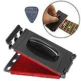 Strungout Dual Gitarre Saiten und Griffbrett Reiniger für elektrische und akustische Gitarren rot