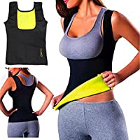 Women Hot Sweat Body Shaper Tank Thermo Yoga Sauna Neoprene Vest Fat Burner Slimming Waist Shaper Trainer Cincher (XL)