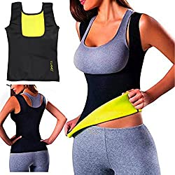 Women Hot Sweat Body Shaper Tank Thermo Yoga Sauna Neoprene Vest Fat Burner Slimming Waist Shaper Trainer Cincher