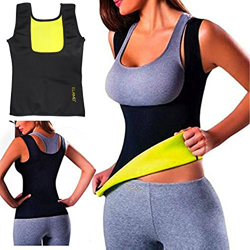 36782318eec Women Hot Sweat Body Shaper Tank Thermo Yoga Sauna Neoprene Vest Fat Burner  Slimming Waist Shaper