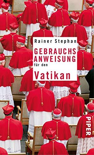 Gebrauchsanweisung für den Vatikan (Stühle Kirchen)