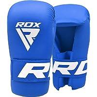 RDX Cuir De Maya Hide Vachette MMA Gants Sparring UFC Libre Entrainement Sac De Frappe Art Martiaux Kickboxing