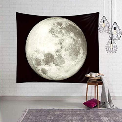 ZYQ Nordic Japanese Tapestry Moon Ornaments Arazzo Decorativo Rivestimento murale Canvas Photo Background Cloth Tapestry 3 Sizes (Colore : D, Dimensioni : 230X150CM)