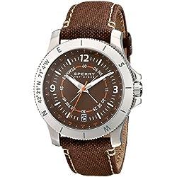 Sperry top-sider Herren 10018705Explorer Analog Display Japanisches Quarz-braun Armbanduhr